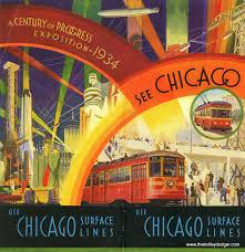 1964 World S Fair Map by The Chicago World U0027s Fair By Streetcar U2013 The Trolley Dodger