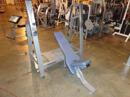 Nautilus Bench Press Machine Midwest Used Fitness Equipment Nautilus Nitro Olympic Bench Press