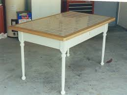 tile table top makeover table top tiles table with tile top busca dores