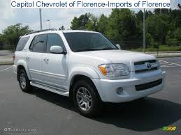 2005 toyota sequoia limited specs 2005 white toyota sequoia limited 31644356 gtcarlot com