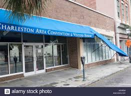 charleston area convention and visitors bureau charleston sc the awning on the visitors bureau hangs damaged on king in