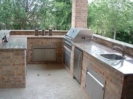 aluminum outdoor kitchen cabinets steel frame kits for outdoor kitchen u shaped brick island glass