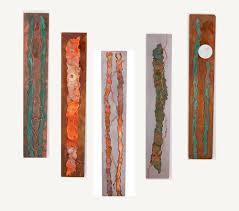 metal wall art organic series by kristen hoard 175
