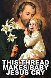 Baby Jesus Meme - should jesus have been aborted