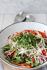 thai green salad www thehomecookskitchen com easy to make simple