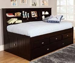 espresso twin bookcase daybed all american furniture buy 4