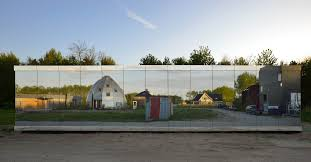 see these mirrored buildings blend into their surroundings today com