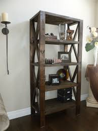 Do It Yourself Home Projects by Rustic Bookcase Do It Yourself Home Projects From Ana White