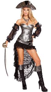 Womens Ghost Halloween Costumes Deadly Pirate Captain Costume Pirate Costume Pirate Costume