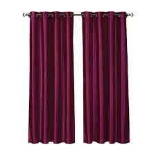 Maroon Curtains Window Elements Sheer Sheer Elegance 84 In L Grommet Curtain