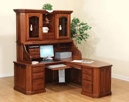 solid wood writing desk with hutch home desk with hutch oembed org