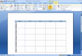how do i create and format tables in word 2007 techrepublic
