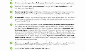 Sample Project List For Resume by Resume Of A Business Analyst Project Manager Sample Resume For
