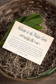 Welcome Baskets For Wedding Guests Farm To Table Wedding Welcome Basket Weddings Ideas From Evermine