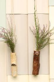 wood log vases wood log vase birch tree air plant holders pot stick pot