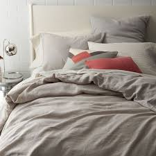 natural linen comforter twin linen duvet cover west elm