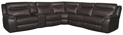 curtis 6 piece power sectional morris home reclining sectional