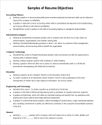 Resume Objectives Statements Examples by Resume Objective Statement Examples 9 Samples In Pdf