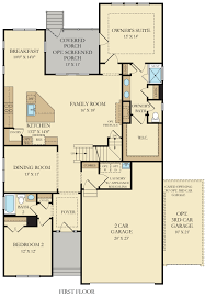 The Jeffersons Apartment Floor Plan Captiva New Home Plan In Plantation Lakes Signature By Lennar