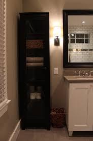 bathroom cabinets black linen cabinets for bathroom popular home