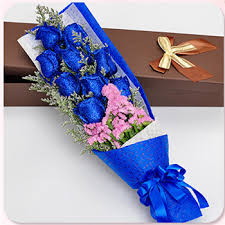 blue roses delivery send flowers to china best china online local flower shop delivery