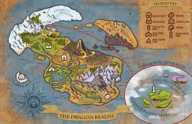 Forgotten Realms Map The Dragon Realms Map By Weremagnus On Deviantart