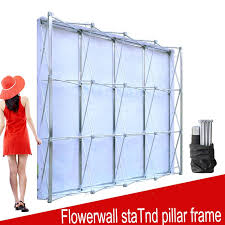wedding backdrop stand malaysia 2018 aluminum flower wall folding stand frame for wedding