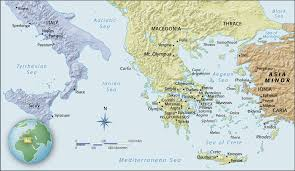 Delphi Greece Map by Arh 252 Module 5 Artmap