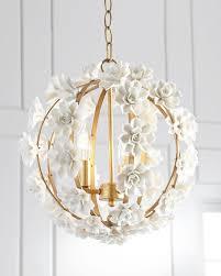 Flower Pendant Light Ceramic Flower Pendant Light