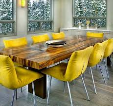 Colored Leather Dining Chairs Dining Room Glamorous Yellow Dining Room Chairs Dinning Yellow