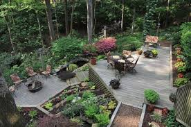 Landscaping Ideas Hillside Backyard Tiered Decks On Steep Hill Google Search Pool Decks