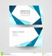 Name Style Design by Modern Origami Style Design For Business Card Stock Vector Image