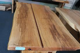 slab wood maple live edge wood slab table with jatoba inlay jrt102