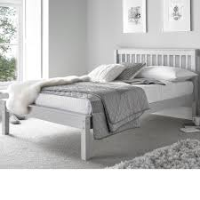Bed Frame Foot Www Happybeds Co Uk Grace Grey Wooden Low Foot End Bed Frame 4ft6