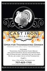 thanksgiving day cast iron grill bar comfortable since 2009