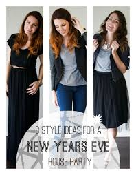 what to wear for new year 8 style ideas for a new year s house party babble