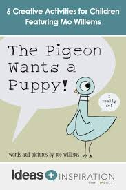 6 creative activities for children featuring mo willems