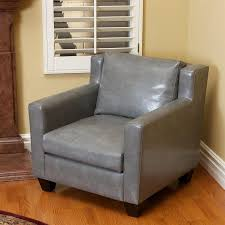 shop best selling home decor quaker casual gray faux leather club