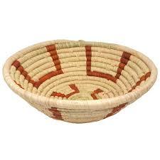 basket home decor mary basket medium african home decor circle of hands uganda