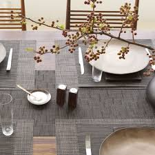 table setting runner and placemats decor dining room with dining table and chilewich placemats and