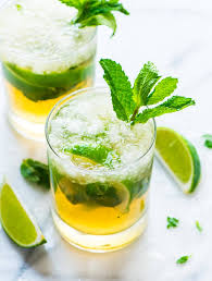 green cocktail irish whiskey smash