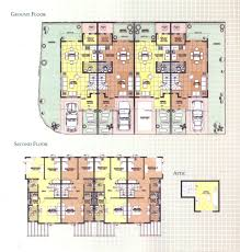 townhouse floor plan philippines homes zone