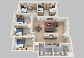 5 bedroom floor plans floor plans madbury commons