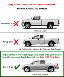nissan frontier custom tyger custom fit 05 14 nissan frontier suzuki equator crew cab