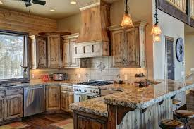 Custom Solid Wood Kitchen Cabinets Designing Idea - Rustic kitchen cabinet