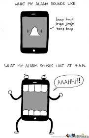 Iphone Alarm Meme - iphone alarm by kodaka meme center