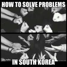 Funny Korean Memes - funny korean kpop meme problems solve south korea image
