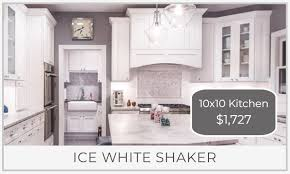 what does 10x10 cabinets kitchen price comparison using a 10x10 kitchen