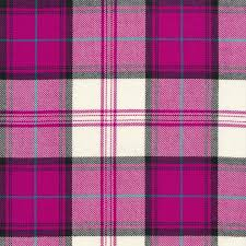 pink tartan tartan dress fuchsia menzies tartantown ltd