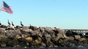 mysterious stone island off west dennis beach youtube
